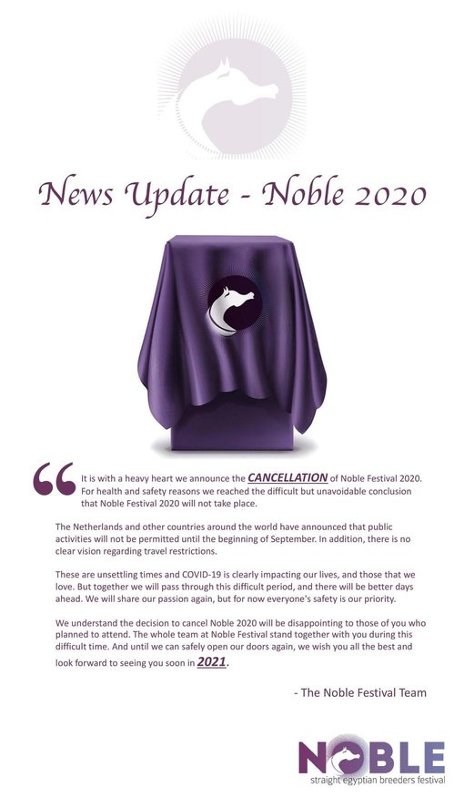 News Update – Noble 2020